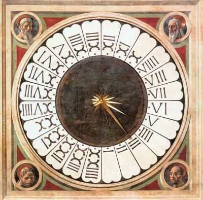 Home-Made Sundial Clock With Roman Numerals - Roman Numerals